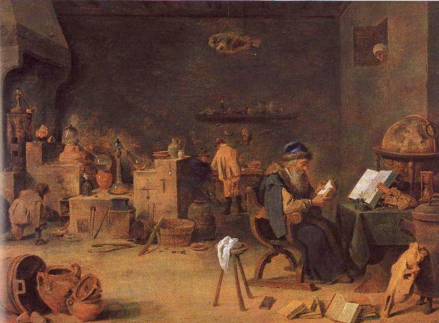 Alchemical Laboratories Paintings